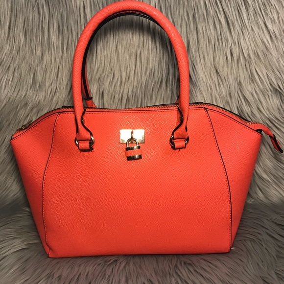Call It Spring Bags   Coral Tote Purse   Poshmark 21465799f4